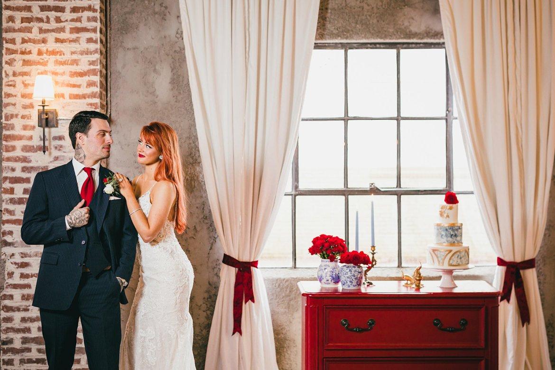 Red, Blue & Gold Wedding Inspiration Foxglove Marietta Atlanta Wedding Photographers