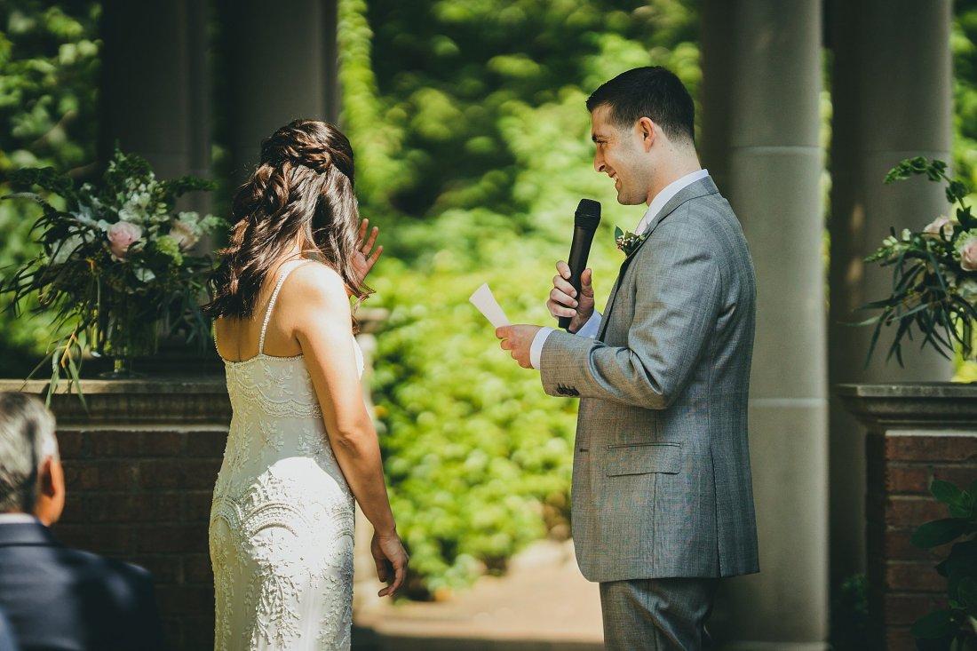 Atlanta Botannical Gardens Intimate Wedding Atlanta Wedding Photographers