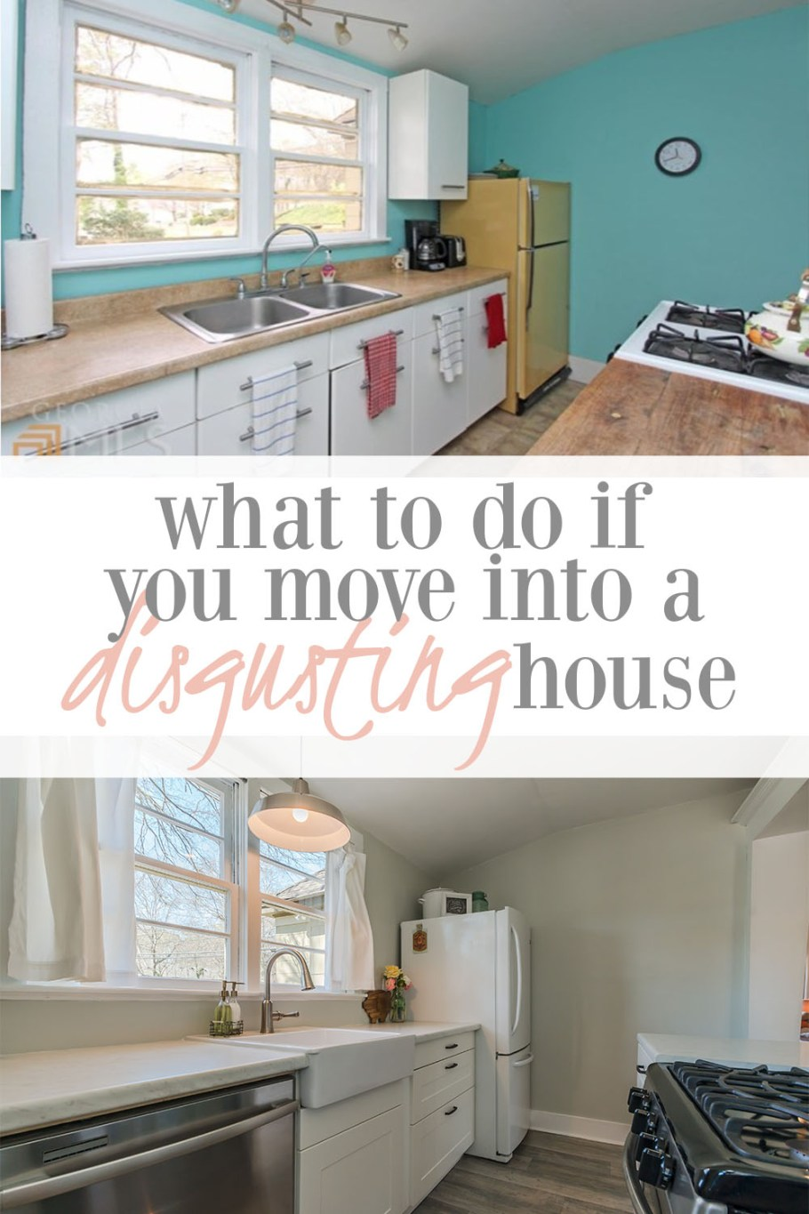 what to do if you move into a dirty house