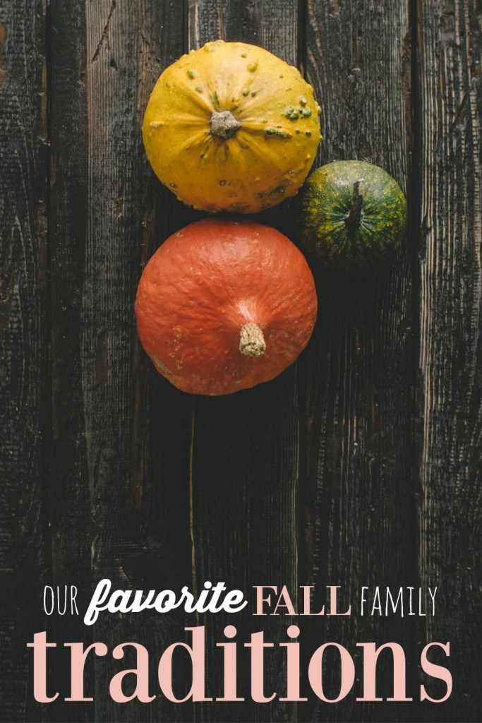 favorite fall family traditions