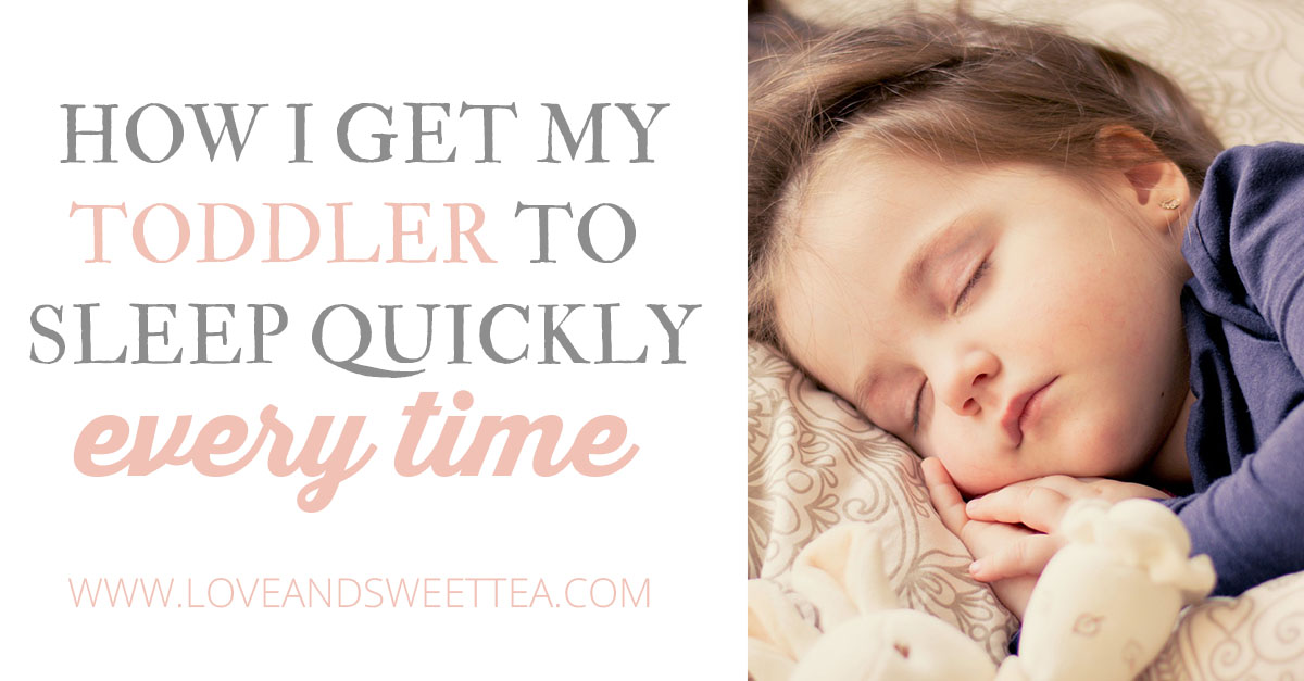 How to get your toddler to sleep quickly