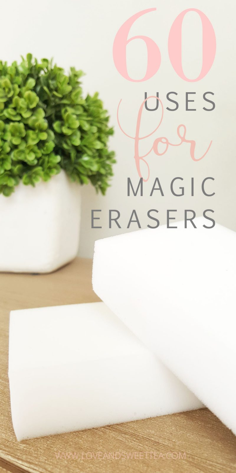Here are some of my favorite lists of uses for magic erasers! You never know what you'll learn from one of these!