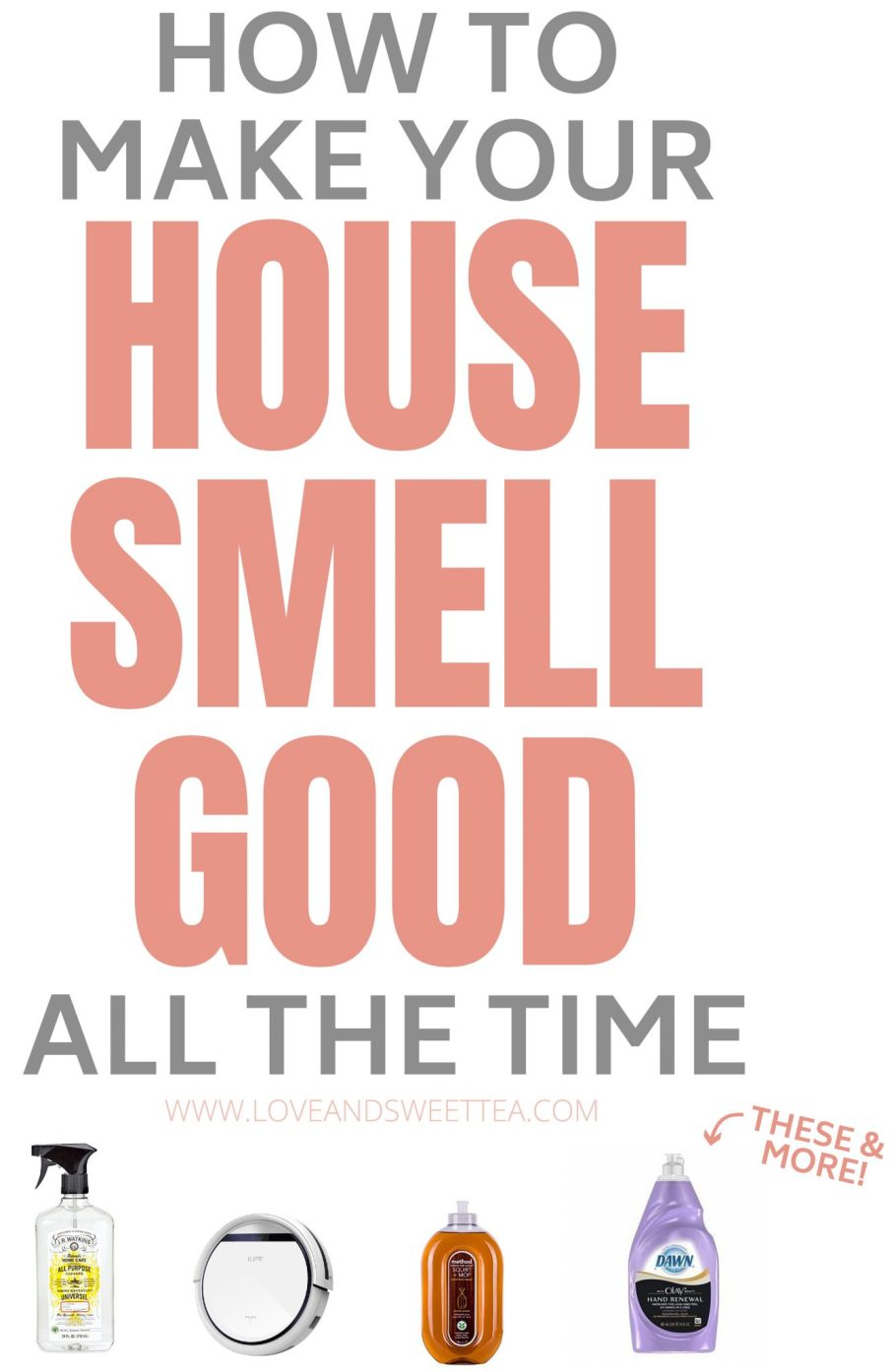 This girl explains how to make your house smell good all the time. Can't wait to try these tricks! No lying, an amazing smelling house kinda makes me feel like a princess. You can make your house smell good (& clean) without lots of harsh chemicals, too.