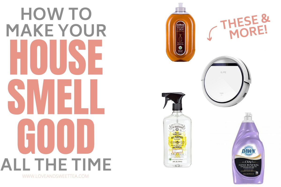 How To Make Your House Smell Good All The Time Naturally (ish)