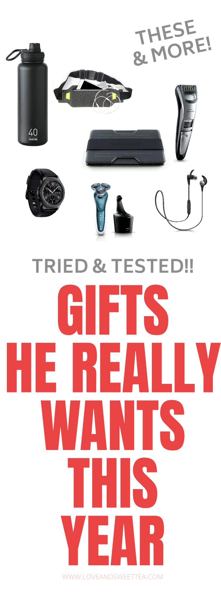 guys can be so hard to buy for but this gift guide will help you