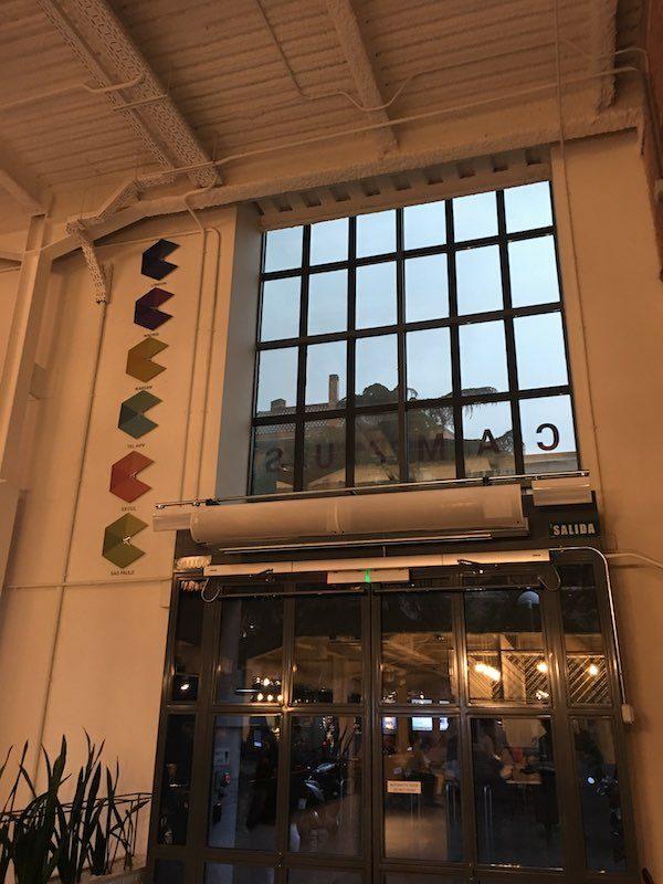 Campus Madrid Entrance
