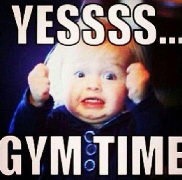 Yes Gym Time Meme