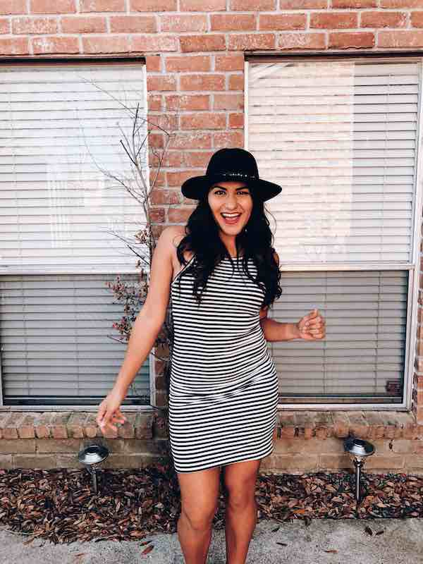 Bodycon Dress With Western Hat