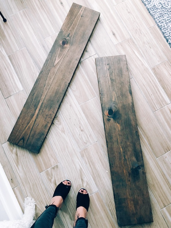 How to Make Rustic Wood Shelves - A DIY Guide 5