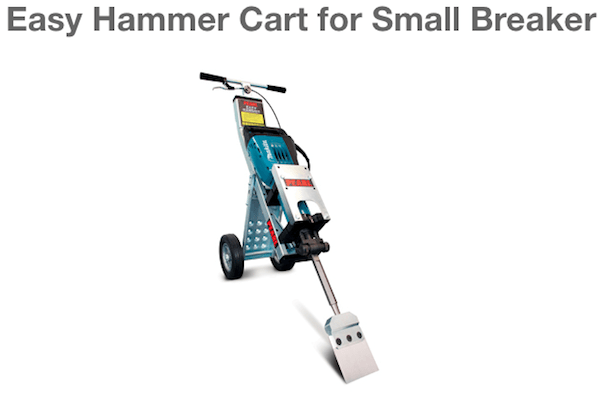 Easy Hammer Cart for Small Breaker