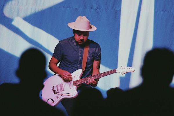 Jp Playing Electric Guitar