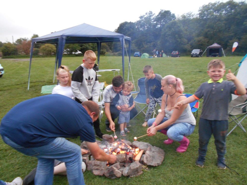 Love Barrow families loving camping!