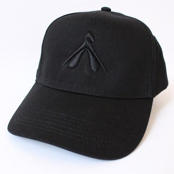 12 – casquette noire – My pleasure noir – face