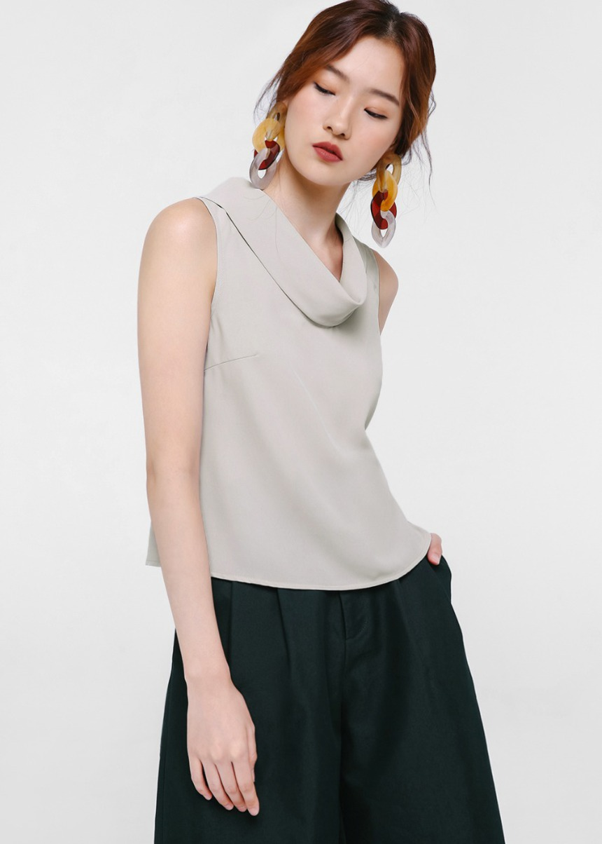 Monroe Mock Neck Top
