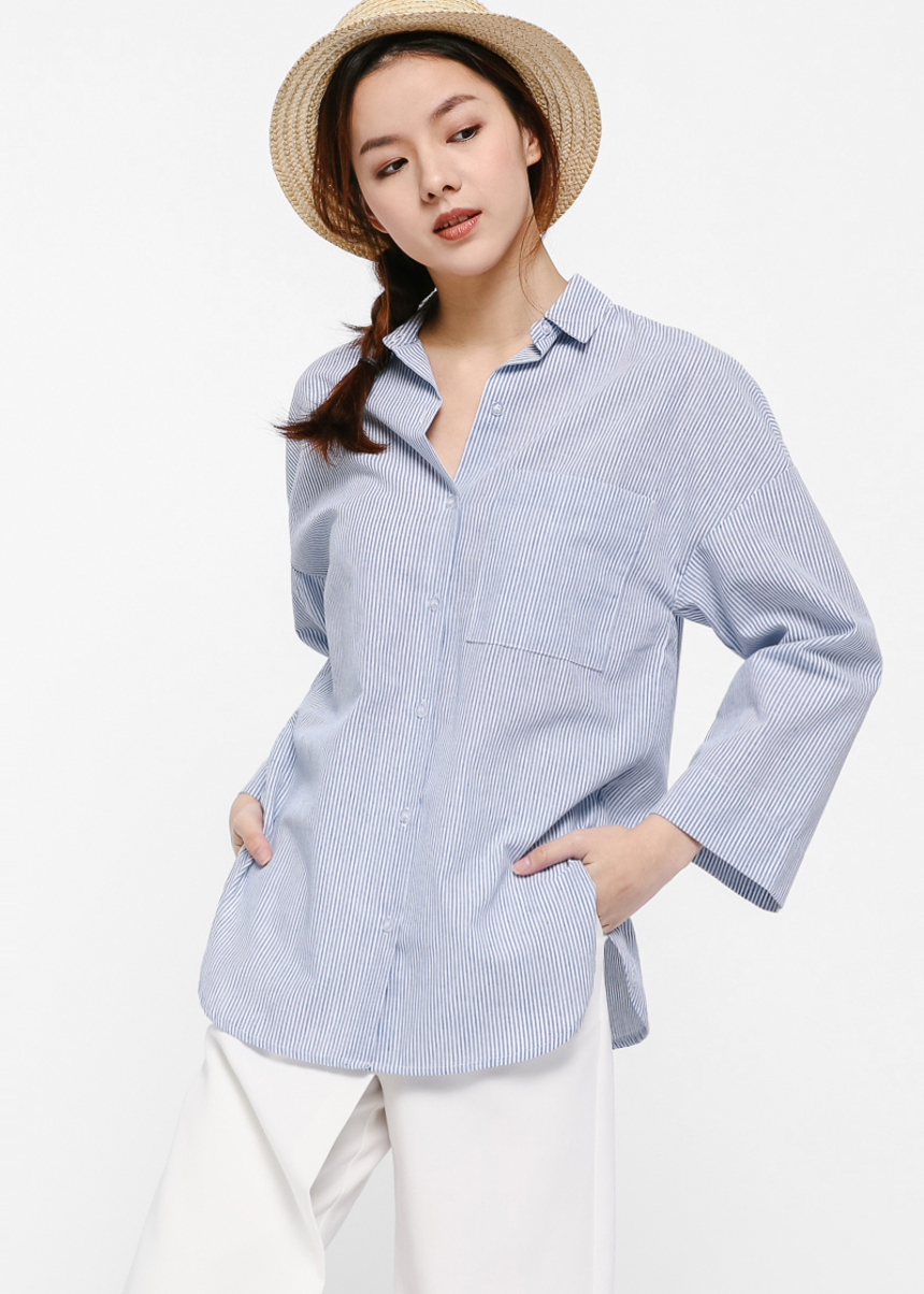 Dakota Relaxed Fit Boyfriend Shirt