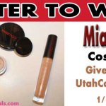 GIVEAWAY: Enter to win Mia Mariu Cosmetics ($58 value) Through 1/18