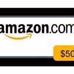 Flash Giveaway: $50 Amazon.com Gift Card
