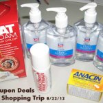 Rite-Aid Shopping Trip 8/22/12 = FREE + money maker!