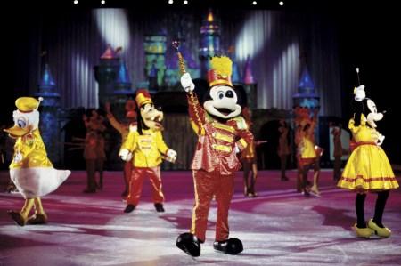 Mickey Donald Goofy and Minnie on Disney on Ice