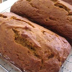 home made pumpkin bread recipe