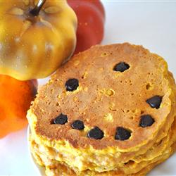 home made pumpkin pancakes recipe