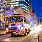 FREE Rides on the Jingle Bus (Holiday Lights and Shopping) in Downtown SLC