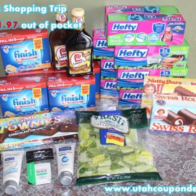 Smiths Shopping Trip | Spent $1.97 – Saved $69.53