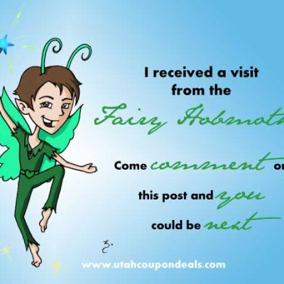 The Fairy Hobmother visited – Guess what I got?!?!