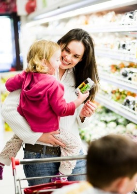 Extreme Couponing Tip: How to shop for groceries with kids