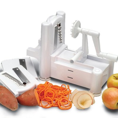 Paderno World Cuisine Tri-Blade Spiral Vegetable Cutter 31% off!