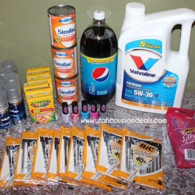 Walmart Shopping Trip – 8/13 – Spent $9.93  Saved $49