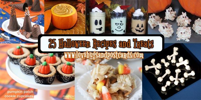 25 Halloween Recipes and Treats