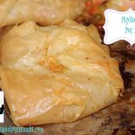 Phyllo Beef Pot Pies Recipe