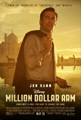 Disney's MILLION DOLLAR ARM Trailer – Movie releases on 5/16/14