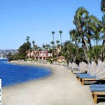 Bahia Resort Hotel in San Diego {West Beach}