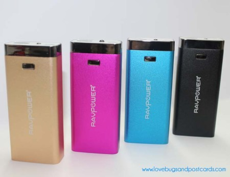 RAVPower Luster 6000mAh Backup External Battery Pack Power Bank Charger