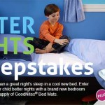 Enter to win the GoodNites® Sweepstakes and Join our Twitter Party on 4/10! #GNLightsOut