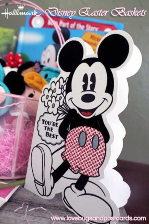 Hallmark has everything for the perfect Disney Easter Baskets - Mickey Mouse Card