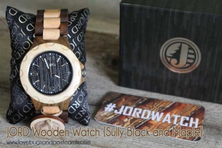 JORD Wooden Watch {Sully Black and Maple}