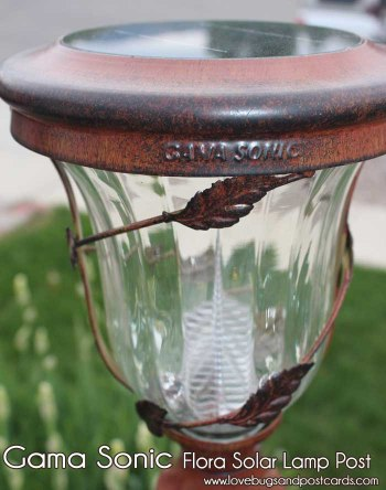 Gama Sonic Flora Solar Yard Light