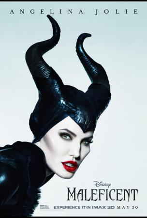 Maleficent Movie Poster - Angelina Jolie