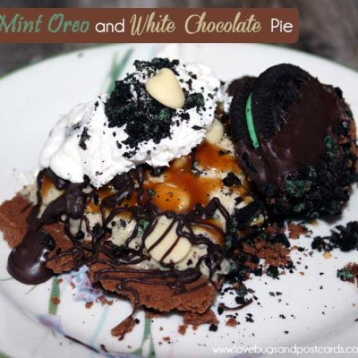 Mint Oreo and White Chocolate Pie Recipe