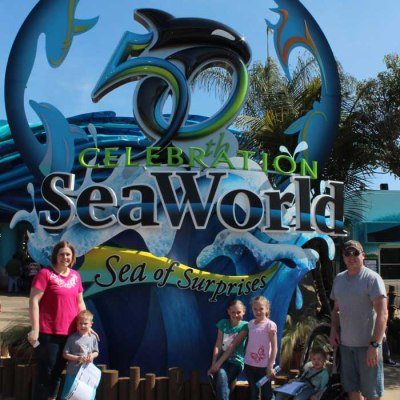 Taking my family to SeaWorld San Diego for the first time