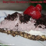 Berry Oreo Strawberry Cheesecake Recipe {No Bake}