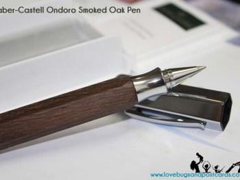 Faber-Castell Ondoro Smoked Oak Pen Review