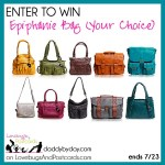 Giveaway: Epiphanie Bag – Any Style (ends 7/29)