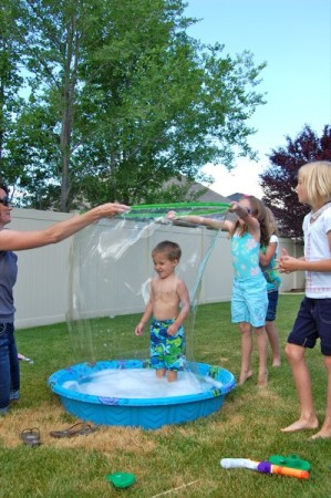 Giant Bubbles - Educational Activities for Kids