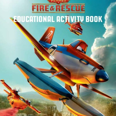 Planes: Fire and Rescue Educational Activity Book #FireAndRescue
