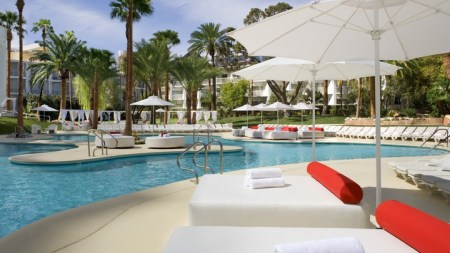 Tropicana Las Vegas Pool. Voted the Best Pool in Las Vegas!