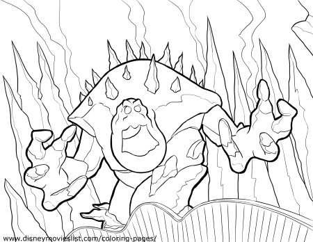 FROZEN Marshmallow Coloring Page